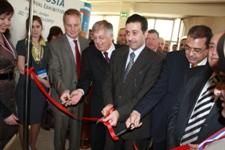 Открытие выставки в Иордании